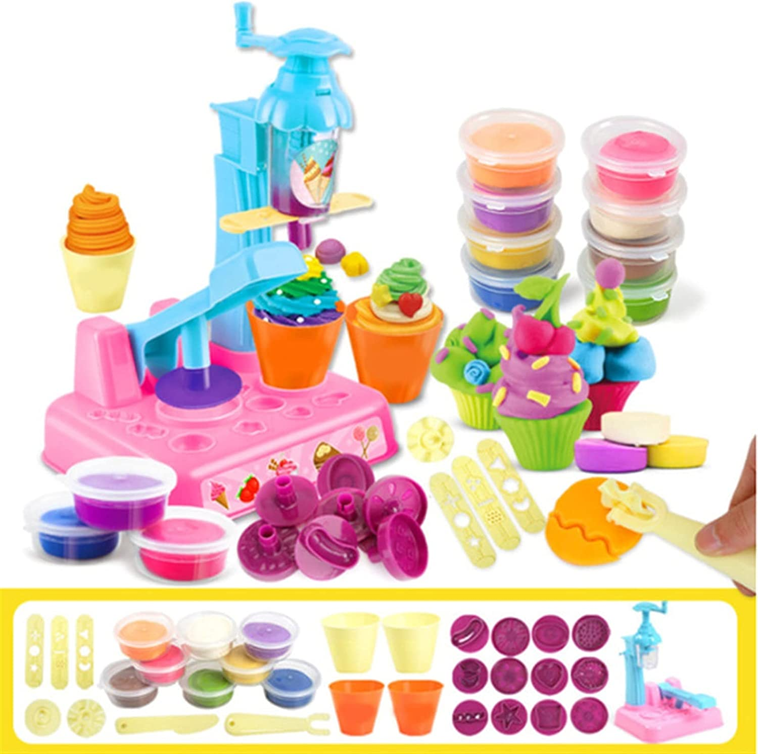 LUBINGT Dough Kitchen OFFicial mail order Creations Super sale period limited Noodle Colored Clay Children's S
