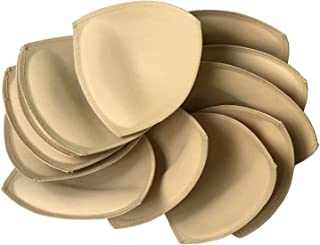 6 pairs Removeable bra pad insert for sport bra and bikini tops