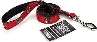 All Star Dogs Chicago Blackhawks Ribbon Dog Leash