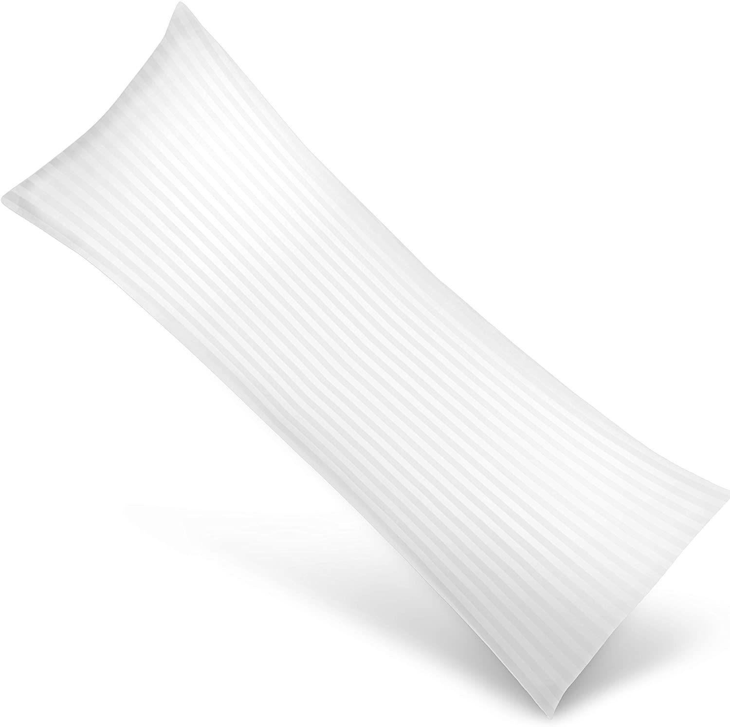 Utopia Bedding Soft Body Pillow - Long Pillows for Side and Back Sleepers - Cotton Blend Cover with Soft Polyester Filling (Single Pack) 20x54 Inch