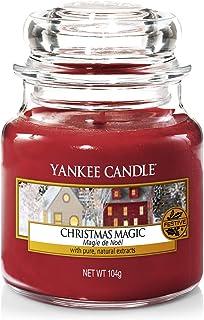 Yankee Candle bougie jarre parfumée | petite taille | Magie de Noël | jusqu'à 30 heures de combustion