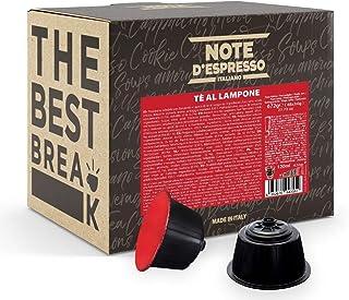 "Note d""Espresso Kapseln für Nescafe Dolce Gusto Kaffeemaschinen, Himbeertee, 14 g 48-er Pack"
