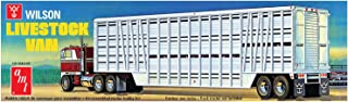 AMT 1106 1/25 Wilson Livestock Van Trailer