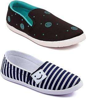 ASIAN Women's Running Shoes (Set of 2 Pairs)