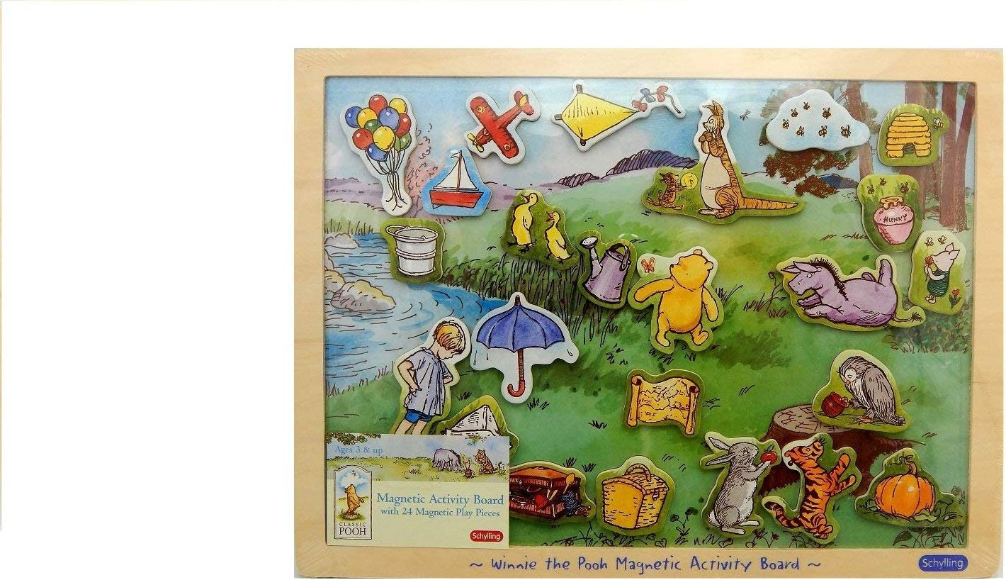 Winnie 2021 spring and summer new the Nippon regular agency Pooh Board Magnetic Friends