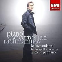 ラフマニノフ:ピアノ協奏曲第1番&2番