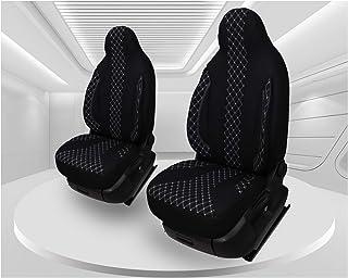 Maß Sitzbezüge kompatibel mit Mercedes Vito W447 Fahrer & Beifahrer Farbnummer: PL408