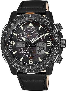 Citizen - Reloj de Cuarzo Citizen Radio Controlled, Eco Drive U680, Negro, JY8085-14H
