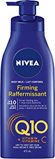 NIVEA Q10 + Vitamin C Firming Body Milk for Dry Skin (473 mL), Nourishing Body Lotion with Skin Care Formula that Provides...