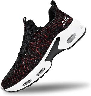 FefiYo Mens Air Running Shoes Lighweight Non Slip Athletic Gym Tennis Walking Sneakers