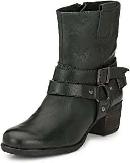 Alberto Torresi Women Naiara Militry Green Boot