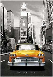 NY Taxi NO 1 Custom Best Nice Stylish Classical Home Decor Fashionable Mondern Poster Size (50x76cm)