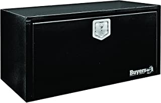 Buyers Products Black Steel Underbody Truck Box w/ T-Handle Latch (18x18x30 Inch)