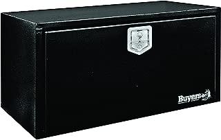 Buyers Products Black Steel Underbody Truck Box w/ T-Handle Latch (14x16x24 Inch)