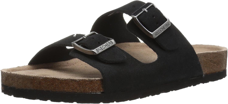 Skechers Womens Granola - Fresh Spirit - Classic Comfort Two Strap Slide Sandal Slide Sandal