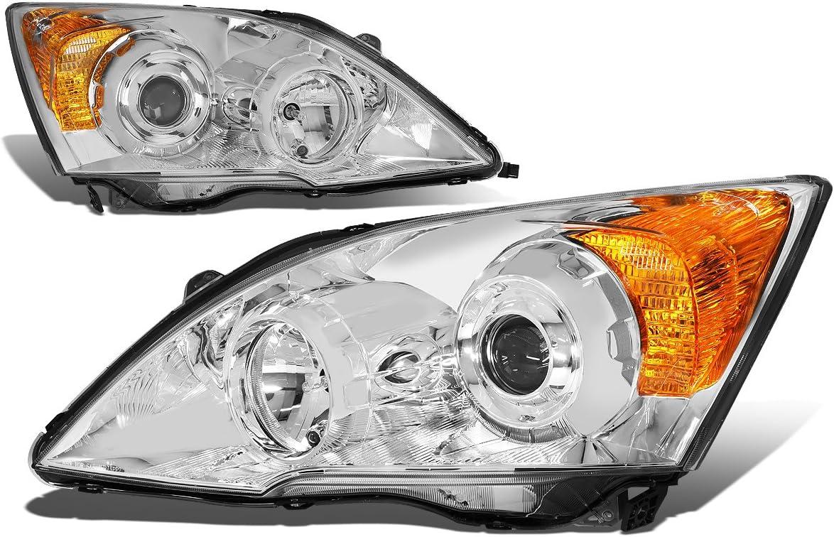 Pair of Chrome Housing Amber 限定モデル Lam Projector Head Headlight Corner 買い取り