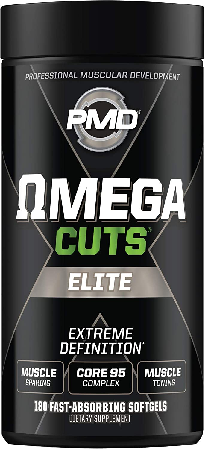 PMD Sports Omega Indefinitely Recommended Cuts Elite - Defining Formula -Fat Loss-Muscle