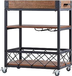 Descubre tu estilo - Barra y carritos para servir | Amazon.com