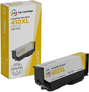LD Products Remanufactured Ink Cartridge Replacement for Epson T410XL420 ( Yellow )
