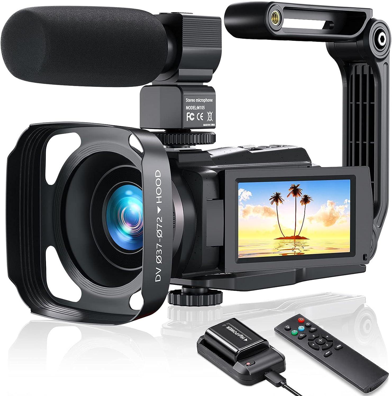 MELCAM Camcorder Video Camera 4K