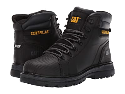 Caterpillar Foxfield Steel Toe (Black Leather) Men