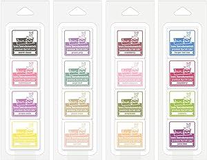 Lawn Fawn Ink Cubes - 16 Colors - County Fair, Farmer's Market, Sunday Brunch & Secret Garden - 4 Items