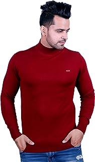 Godfrey Men Turtle Neck Woolen Sweater