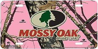 Airstrike Pink Camo License Plate Frame Camo License Plate Holder Mossy Oak License Plate Frame Pink Break Up Camo-30-8002 Mossy Oak Car Tag Frame