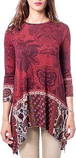 Luxury Fashion | Desigual Womens 19WWTKCOBURGUNDY Burgundy T-Shirt | Autumn-Winter 19