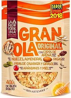 La Newyorkina, Cereal granola - 5 de 400 gr. (Total 2000 gr.