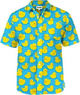 Men's Bright Hawaiian Shirts for Spring Break and Summer - Aloha Shirt for Guys