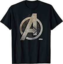 Marvel Avengers Infinity War Steel Symbol Graphic T-Shirt T-Shirt