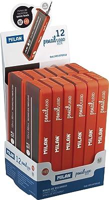 Milan 1851040512 - Caja de 12 tubos de 120 minas de recambio