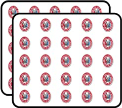 Oval Eagle Scout Logo - America Scouting Insignia boy Emblem us Sticker for Scrapbooking, Calendars, Arts, Kids DIY Crafts, Album, Bullet Journals 50 Pack