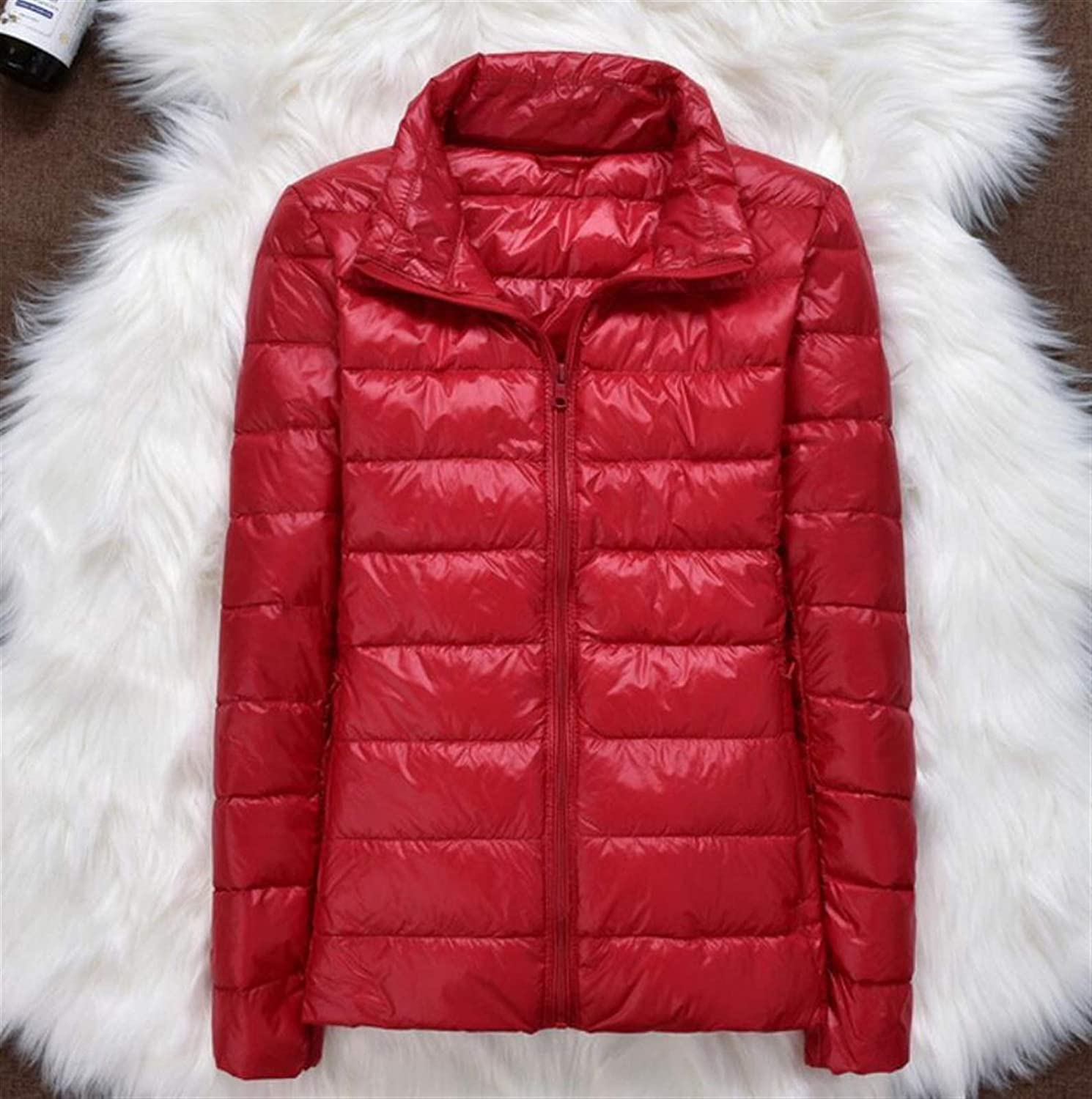 Thickened Seattle Mall Down Jacket Leather Plaid Coat New Light Winter OFFicial Ultra