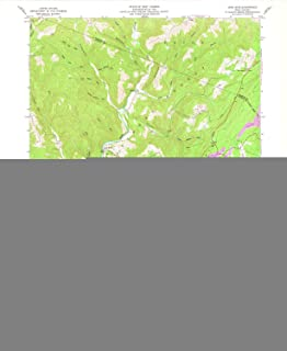 YellowMaps Lead Mine WV topo map, 1:24000 Scale, 7.5 X 7.5 Minute, Historical, 1959, Updated 1978, 27 x 22.1 in