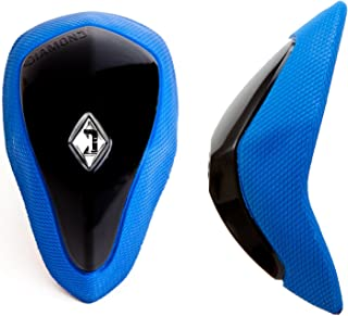 Protective Athletic Groin Protector Cup w Soft Rim - Shock Absorbent No-Shift