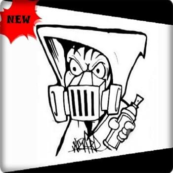 Graffiti Gas Mask