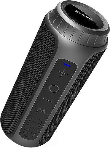 Zamkol Altavoz Bluetooth, 30W Altavoces Bluetooth portatiles, Sonido Estéreo de 360 Grados y Bass Mejorado, Sonido Es...