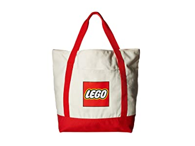 LEGO Canvas Tote (White) Handbags
