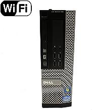 Dell OptiPlex 790 SFF Desktop PC - Intel Core i7-2600 3.4GHz 4GB 500GB DVDRW Windows 10 Pro (Renewed)