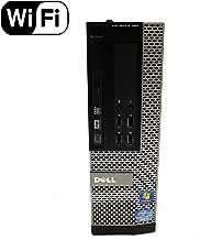 Dell Optiplex 790 SFF Small Form Factor Business Desktop Computer PC (Intel Dual Core i3 CPU 3.3GHz, 4GB DDR3 Memory, 500GB HDD, DVDRW, Windows 10 Professional) (Renewed)