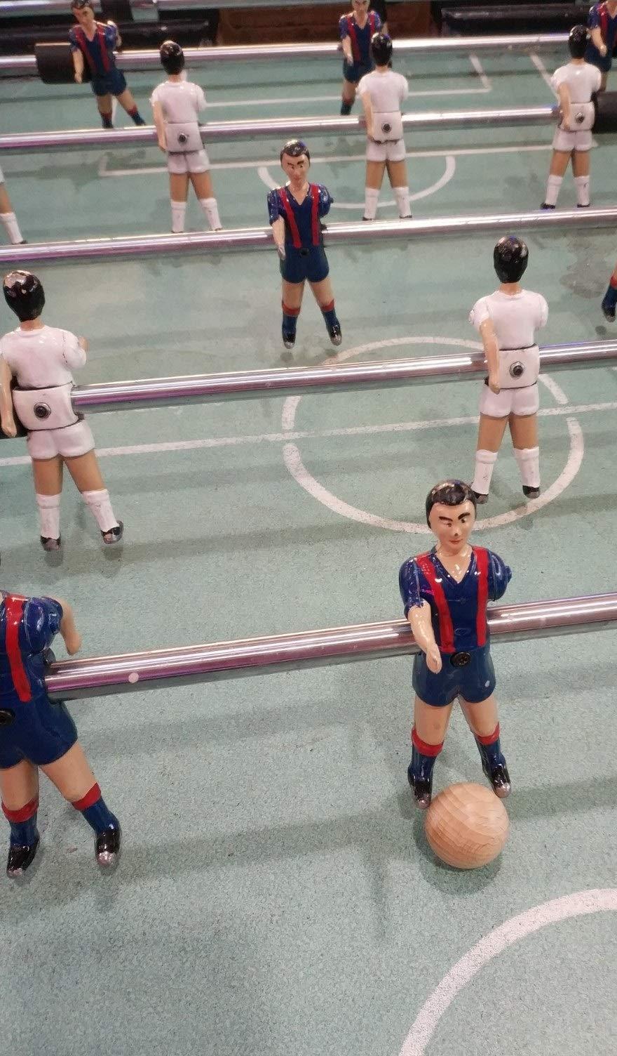 Gerileo Lote de 10/20/30 Bolas de futbolín de Madera de Haya 33mm ...