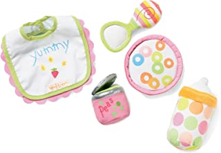 "Manhattan Toy Baby Stella Feeding Baby Doll Accessory Set for 12"" and 15"" Soft Dolls"