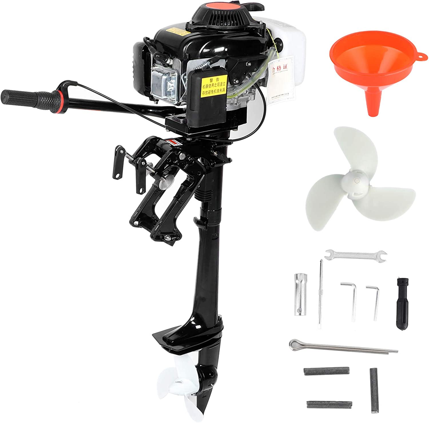 4 Stroke 4HP Max 65% OFF Outboard Motor Boat Sy Fashion Propeller Cooling Air Engine