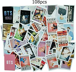 108p BTS World Lomo Cards Bantan Boys Postcards PERSONA Photos Gifts for Army Daughter (PERSONA+BTS WORLD)