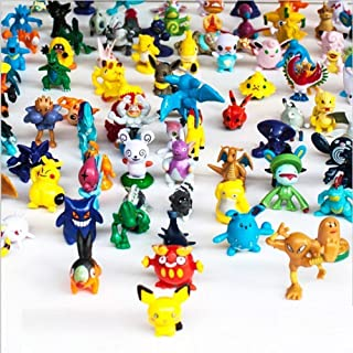 musen-Toy Play Fun 144 pcs Heroes Action Figure Toy Set Mini Action Figures 2-3 cm Kid's Gift Children Game