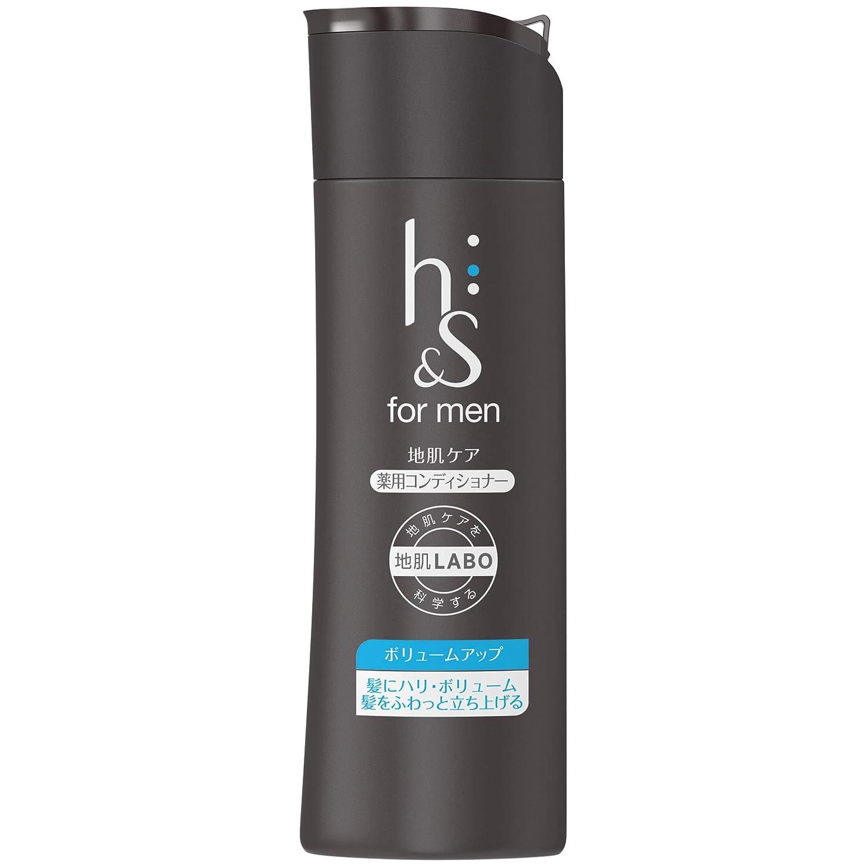 アフリカ人いう化合物h&s for men コンディショナー ボリュームアップ ボトル 200g