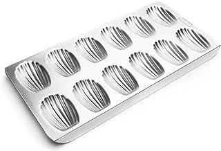 Fox Run Madeleine Pan, Tin-Plated Steel, 12-Molds