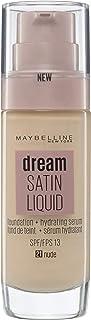 Maybelline New York Dream Radiant Liquid - Base de Maquillaje Líquida con Sérum Hidratante, Tono 021 Nude